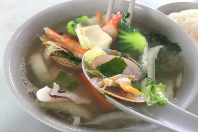 Clear Fish Soup
