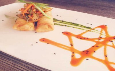Curried Chicken Spring Roll