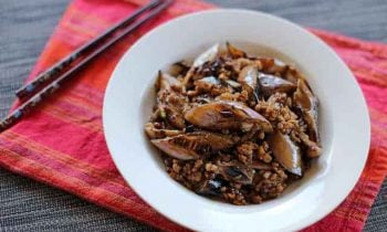 Eggplant Spicy Meat