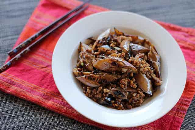 Eggplant Spicy Meat